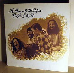 MAMAS & THE PAPAS, THE - People Like Us *US 71* LP MINT