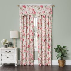 This beautiful floral will freshen your room and give new life to existing furnishings.