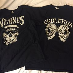 Ska shirts Men's M in good condition have been worn a handful of times. Fits womens L or XL Tops Tees - Short Sleeve
