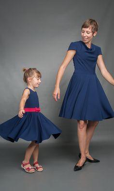 Mama-Tochter Tanzkleid