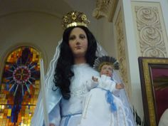 Virgen de La Candelaria. Lico, Manuel Rodríguez, iglesia de Bolívar, san Ramón, Alajuela.