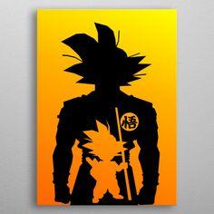 Goku Silhouette by Ardi Arumansah Small Canvas Paintings, Mini Canvas Art, Dragon Ball, Mini Toile, Goku Drawing, Art Drawings, Sketches, Harry Potter, Disney Silhouette Painting