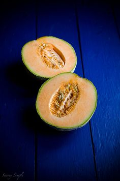 This Cantaloupe Gazpacho is a seasonal, sweet and savory chilled soup. Try serving it in a pitcher at summer parties!