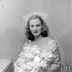 1947.The Bride Barbara Winn by Nina Leen