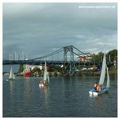 "@Klaus Ødegårdstuen Oppermann's photo: ""#sailing #wilhelmshaven #travel #germany #bridge #water #boat #wind #europe #hobby #journey #pinstagram #instagram"""