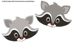 FREE DIY STUDIO CUT FILE art of singer Facebook raccoon