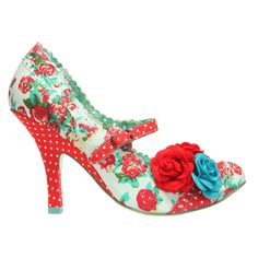 Would so love to wear these!!  Cute And Floral Shoes From Irregular Choice