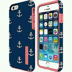 Incipio DualPro Prints for iPhone 6 - Anchors- Verizon Wireless Cool Iphone Cases, Cool Cases, Cute Phone Cases, Iphone Phone Cases, New Iphone, Anchor Phone Cases, Iphone Charger, Phone Covers, Samsung Cases