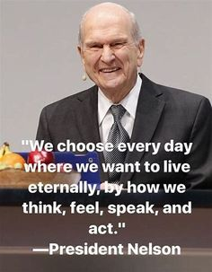 Quotes by LDS President Nelson