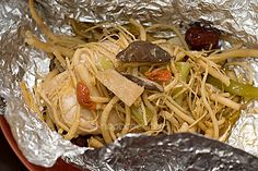 Foil-Wrapped Ginseng Chicken recipe.