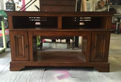 Last month, one of my customers came to my house to drop off a couple of dressers she wanted me to refinish and, when she saw another cabinet I had painted with…