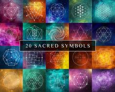 Sacred Geometry Meditation Set Project Yourself - Studies Have Shown That Meditating On Sacred Geometry Can Help Strengthen The Connection Between The Right Left Hemispheres Of The Brain And Remind You Of Your Own Infinite Nature This Sacred G Zentangle, Sacred Geometry Symbols, Feng Shui, Geometry Tattoo, Flower Of Life, Geometric Art, Geometric Designs, Fractal Art, Crystal Grid