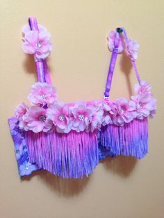 Custom Rave/Festival Bras by KandiKittyDancewear on Etsy, $60.00 Electric Festival Style with UD