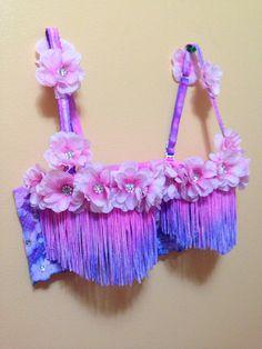 Custom Rave/Festival Bras by KandiKittyDancewear on Etsy, $60.00