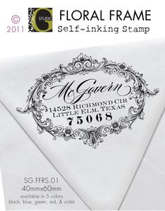 Another address stamp...