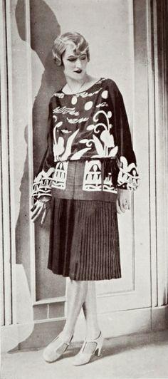 Robe d'après-midi 'Singapour' par Jean Magnin, 1927.
