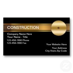 20 best design your own business card online images on pinterest construction business cards reheart Images