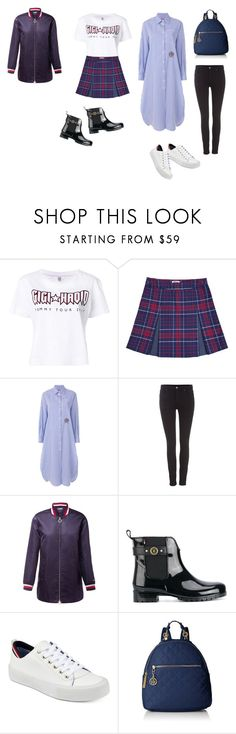 """""""⚪️🔴🔵"""" by jeonkatya on Polyvore featuring Tommy Hilfiger"""