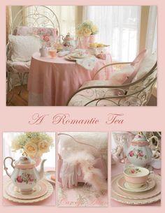a romantic tea at Aiken house
