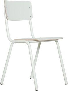 Back to School stoel wit - Zuiver: http://link.marktplaats.nl/a1021480495