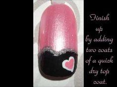 Valentine Nail Tutorial #4
