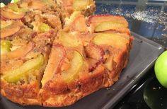 Upside down Apple Pie Greek Recipes, Fruit Recipes, Dessert Recipes, Cooking Recipes, Healthy Recipes, Desserts, Apple Deserts, Food Categories, Thanksgiving Turkey