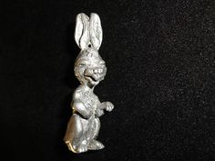 J.B. Pewter Rabbit Miniature Figurine