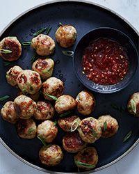 Sesame-Ginger Chicken Meatballs Recipe