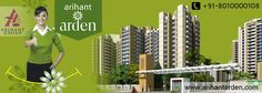 #ArihantArden is the best #residential project by #ArihantGroup in Greater Noida West with all world class #facility. Call @ +91-8010000108 or visit @http://www.arihantarden.com/arihant-arden-features.html