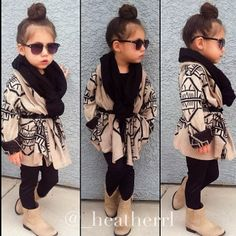 So well dressed! Just like my little girl will be!