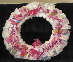 Diaper Wreaths and More