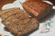 Healthy bread without flour Slovak Recipes, Russian Recipes, Bread Recipes, Low Carb Recipes, Cooking Recipes, German Bakery, Cookie Do, Vegan Desserts, Baked Goods