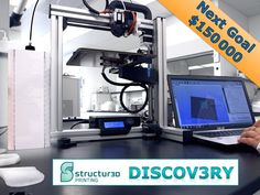 Discov3ry Extruder: Do more than ever with YOUR 3D Printer by Structur3D Printing — Kickstarter.  A universal paste extruder for virtually any desktop 3D printer. Go beyond plastic: print silicone, nutella, wood filler + much more.