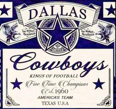 Dallas Cowboys kings of football Dallas Cowboys Gifts, Dallas Cowboys Quotes, Dallas Cowboys Pictures, Dallas Cowboys Football, Pittsburgh Steelers, Football Team, Dallas Cowboys Tattoo Ideas, Cowboys 4, Football Memes