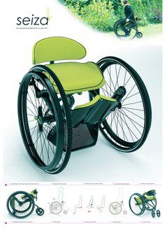 PcD : Seiza nova concepção de cadeira de rodas