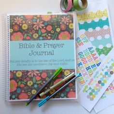 Bible and Prayer Journal DELUXE KIT  brown by FarmGirlJournals