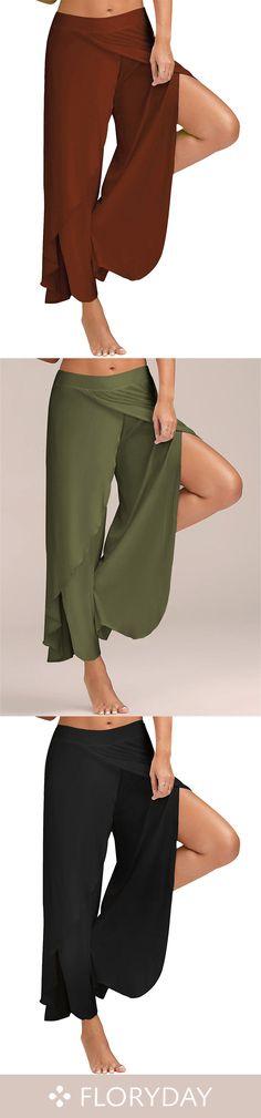 Loose Polyester Pants Pants & Leggings, women fashion pants, pants you love, free pants