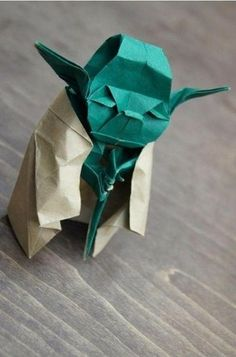 flossie  Origami Yoda by flossie