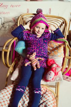 Winter hat and scarf in one! Adorable and colorful! That is what is mim-pi all about! #mimpi #winter2014