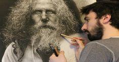 Kunstenaar besteedt 780 uur aan zijn creaties en gebruikt hierbij technieken uit de Renaissance! Verbluffend resultaat! - Hetdelenwaard.nl