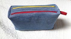 Trousse Zip-Zip en jeans recyclé - Patron Sacôtin