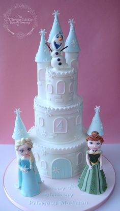 Frozen Castle Cake Frozen Castle Cake Not the real frozen castle, but my own…