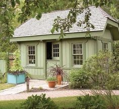 10 Stylish Garden Shed Options We Love #garden