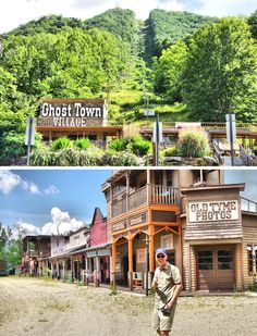 Take a 2017 photo tour of the abandoned Ghost Town in the Sky Park in Maggie Valley - a mountaintop amusement park wildly popular in the 70s and 80s