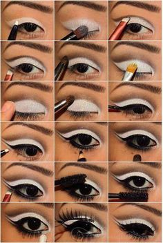 Wonderful Black and White Makeup