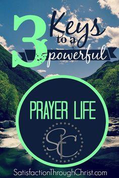 Powerful Prayer Life, 1 Thessalonians | Satisfaction Through Christ