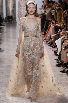 awesome Elie Saab Spring/Summer 2017 Couture Collection... Fashion designers Check more at http://pinfashion.top/pin/58537/