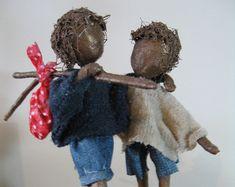 Little Tennis Player Sculpture. Made to door Stephaniessculptures