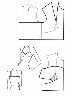 Blouse Patterns, Clothing Patterns, Sewing Patterns, Pattern Drafting Tutorials, Romper Pattern, Jacket Pattern, Make Your Own Clothes, Diy Clothes, Sewing Blouses