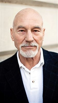 Patrick Stewart as the Merlin of the White Council.